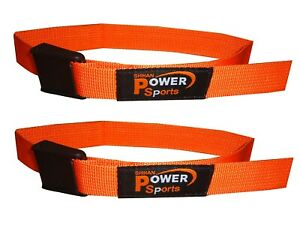 BICEP STRAP Max Bicep Blood Flow Restriction Occlusion Training Bands ORANGE