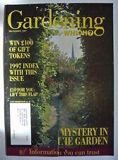 Gardening Which? Magazine. December 1997. Mystery in the Garden. 1997 Index.