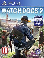 Watch DOGS 2 PS4 eccellente - 1st Class consegna