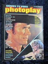 Photoplay magazine, Clint Eastwood cover - Bette Midler, Divine Madness