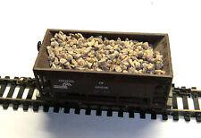 3,20 €/KG) - 500 gr Schüttgut für Güterwagen - 1-2 mm rotbraun, echte Steine