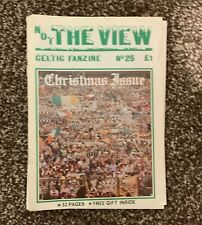 Celtic Football Club - Not the view - Celtic Fanzine - Number 25