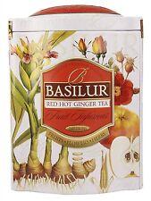 Basilur Fruit Infusions Red Hot Ginger herbal tea - Ginger, cinnamon, hibiscus