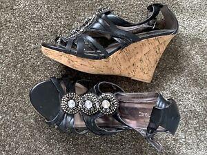 Ladies Gorgeous Next Wedge Sandals Brand New Size 6 1/2