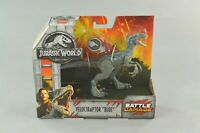 Jurassic World Fallen Kingdom Battle Damage Velociraptor Blue Jurassic Park NEW