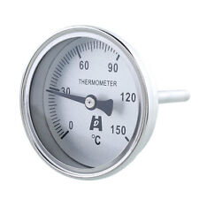 """1/2"""" NPT Threaded Stainless Steel Thermometer Moonshine Condenser Food Meat"""