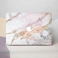 Pink Marble Macbook Sleeves Set Mac Pro 13 15 2018 Hard Cases Set Macbook Air 13