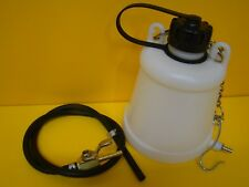 Motorcycle  MX Plastic Auxilary Fuel Tank Workshop Petrol Tank Remote Tank