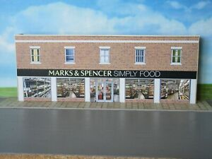 Low Relief Super Store M & S Food  Self Assembly Card Kit Only available here.