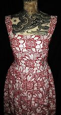 DOLCE & GABBANA - LADIES FLORAL JACQUARD EMBROIDED DRESS - SIZE UK 10 ITALY 42