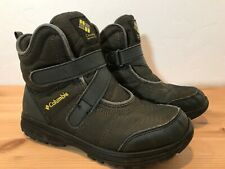 Columbia Winter Snow Boots Waterproof Size US 6 UK 5 EUR 38 Green