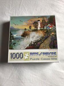 1000 Piece Jigsaw Puzzle Lighthouse Park 100%  Excellent Condition