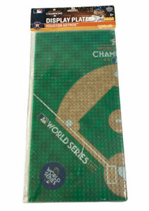 Houston Astros World Series OYO MLB Display Plate Baseba Field for Minifigures