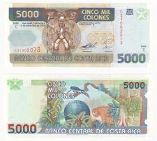 COSTA RICA - 5000 Colones Banknote (2005) Pick ref: 266c - UNC.