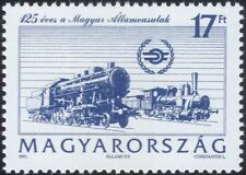 Hungary 1993 Trains/Steam/Transport/Rail/Railways/Locomotives 1v (n22281a)