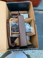 Western Electric Telephone Old Phone Brown Touch -O- Matic In Box