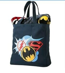 Northwest DC Comics Target Justice League Silk Touch Throw & Canvas Tote Set