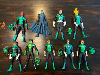 "DC Direct Green Lantern Corps Action Figure Lot 6"" SInestro Black Hand Hal"