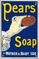 """EMAIL SCHILD """" PEARS' SOAP - FOR MOTHER & BABY TOO * EMAILLESCHILD *"""
