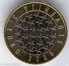 Nouvelle design 3 Euros Slovénie 2008  @ PRÉSIDENCE @