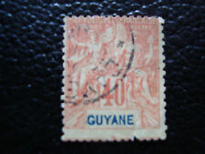 GUYANE - timbre yvert et tellier n° 39 obl (A18) stamp (2eme choix)