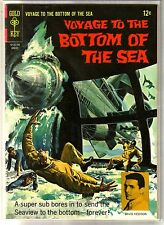 VOYAGE TO THE BOTTOM OF THE SEA #9 Super Sub Attacks! Gold Key Comic Book ~ FN