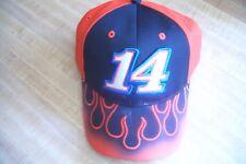 NASCAR  #14 Tony Stewart Flames  Baseball Adjustable Hat Embroidered