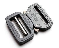 """AustriAlpin COBRA Adjustable Quick Release Tactical Belt Buckle 1.5""""(38mm) Black"""