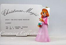 Grolier Disney Maid Marion from Robin Hood Ornament Fox DCO Maid Marian RARE MIB