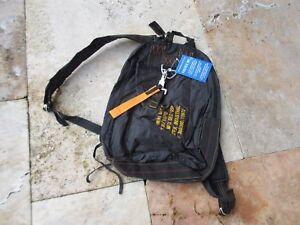 US Army Para Bag Paratrooper Pack Bag Parachute Jumper Backpack Blk