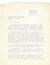 Mas Oyama Kyokushinkai Karate VERY RARE Signed 2 Page Letter 1961 with Envelope