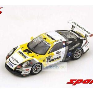 Spark Models PORSCHE 911 (991) GT3 CUP N911 WINNER C1 B PAUL RICARD 2014 L SF083