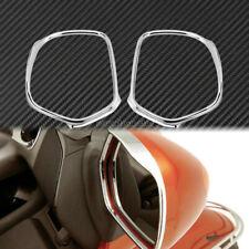Chrome Mirrors Trim Decoration Frame Fit For Honda GL1800 GOLDWING 2001-2012