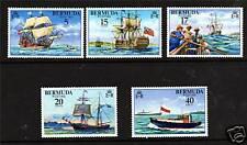 Bermuda 1977 Piloting SG 379/83 MNH
