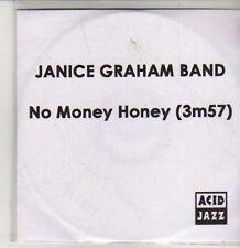 (CS782) Janice Graham Band, No Money Honey - 2012 DJ CD