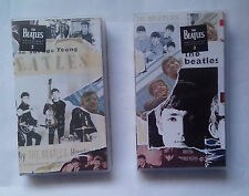 The Beatles Anthology VHS tapes 2 and 3   Tape 3 New Shrink Wrapped