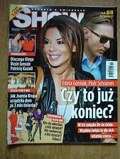 EDYTA GÓRNIAK on cover Show 26/2010 Polish magazine