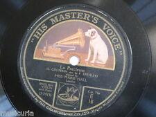 78 rpm MISS MARIE HALL [ violin ] la precieuse - couperin / beethoven - menuett