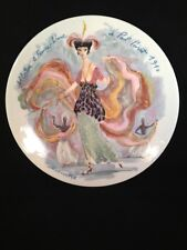 Limoges France Collector Plate Albertine the Sinuous Woman of Pal Poiret 1910