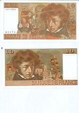GERTBROLEN  10 FRANCS ( BERLIOZ  ) du 15-5-1977  S.190  Billet N° 0474261174