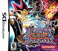 USED Yu-Gi-Oh Nightmare Troubadour Nintendo DS Cartridge Only Super Clean
