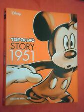WALT DISNEY-TOPOLINO STORY 1951 N°3 - VOLUME A FUMETTI DI QUASI 200 PAGINE