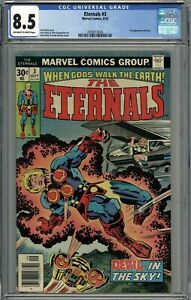 Eternals 3 CGC 8.5 Thanos ties Upcoming movie  1st Sersi