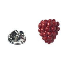 Red Raspberry Design Lapel Pin Badge X2AJTP793