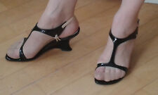 Chaussure Escarpin Femme vernis noire pointure 37,5