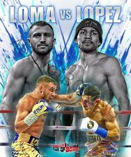 Vasyl Lomachenko vs Teofimo Lopez 4LUVofBOXING new Poster Boxing gym wall art