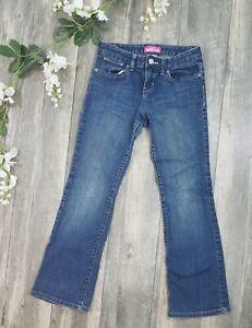 Old Navy Boy's Boot Cut Jeans Dark Wash Size 10