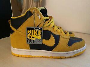 Nike IOWA' S  SB  DEAD STOCK Originals Dunk Highs Size 7 US