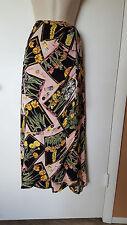 Tropical Attitudes Hawaii Floral Skirt Wrap Long Size L