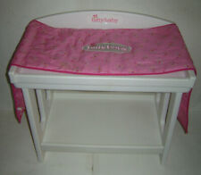 AMERICAN GIRL BITTY BABY TWINS DOLL CHANGING TABLE w/ PAD RETIRED EXCELLENT